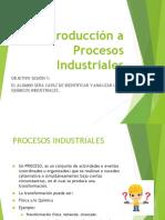 Sesión 1 - Introducción - Procesos Industriales