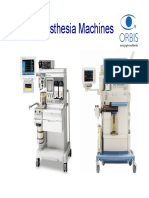 Anesthesia Machines - Orbis (Presentation)