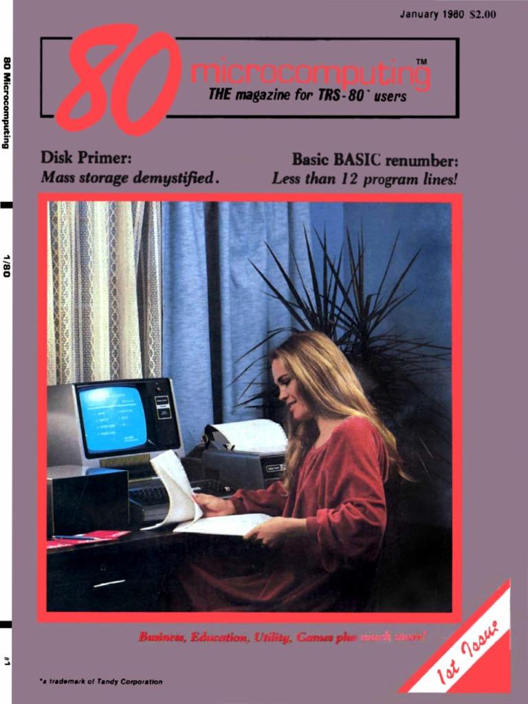 80 micro 8001 january 1980 disk storage equipment fandeluxe Gallery