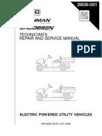 2004 Ez Go MPT 800 1000 Electric Manual