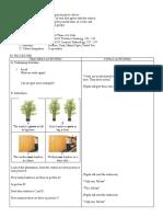 Detailed Lesson Plan