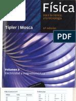 Tipler, Mosca Fisica 6ta Edición Volumen 2 Electricidad y Magnetismo/Luz