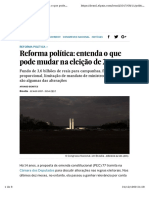 El Pais - Reforma Política no Brasil