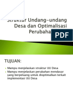 PB 1.2 Struktur Undang-undang Desa Dan Optimalisasi Perubahan Desa