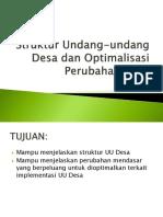 PB 1.2 Struktur Undang-undang Desa dan Optimalisasi Perubahan Desa.pptx