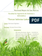 Informe de Laboratorio - Sistemas digitales