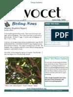 June-July 2006 Avocet Newsletter Tampa Audubon Society