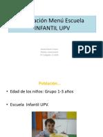 06-Presentacion Valoracion Propuesta Menu UPV