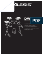 Dm5 Pro Kit With Surge Cymbals Assembly Instructions