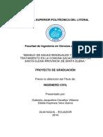 Proyecto de Graduación-manejo de Aa.rr. y Planta de Tratamiento en La Comuna Sacachún