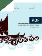 HOSW 2010 PROGRAM