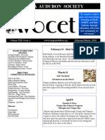 Jan - Mar 2010 Avocet Newsletter Tampa Audubon Society