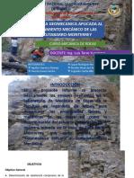 Exposicion Mecanica de Rocas