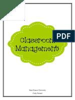 classroom managment plan- final