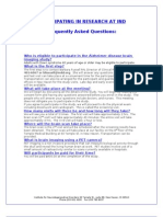 Down syndrome-Alzheimer's study FAQ