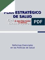 1.- PE - Plan Estratégico de Salud - Ejes