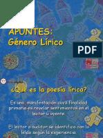 Apunte-1 El Genero Lirico 2017