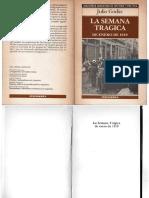 Godio, Julio - La Semana Trágica de Enero de 1919, Hyspamérica, 1985