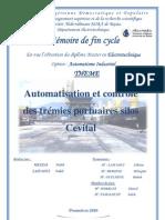 Automatisation et contrôle des trémies portuaires silos Cevital