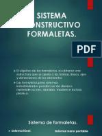 Sistema Constructivo Formaletas 1