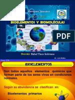 BIOELEMENTOS Y BIOMOLECULAS INORGANICAS.ppt
