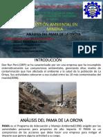 Historia Del Pama de La Oroya
