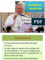 Evangelii Gaudium Final