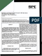 Wet Gas Decline Analisis SPE 23442