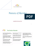 Nature of Gender