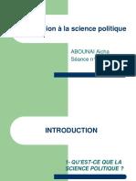 Introduction La Science Politique (1)