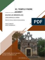 ANALISIS de LA Catedral Del Señor de Tabasco, Villahermosa Final