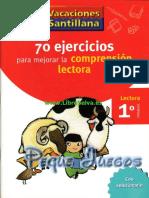 70 EJERCICIOS DE COMPRENSION LECTORA SANTILLANA-1.pdf