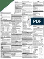 HIOKI 3288 Manual