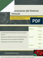 Alteraciones Del Sistema Inmune F.