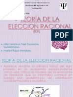 Teoría de La Eleccion Racional