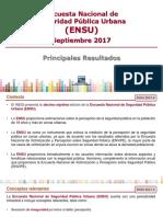 Encuesta ENSU Septiembre 2017