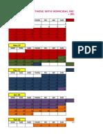 Advance Prebar Review Schedule