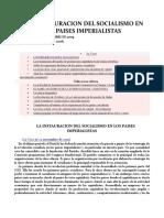 LA INSTAURACION DEL SOCIALISMO EN LOS PAISES IMPERIALISTAS.docx