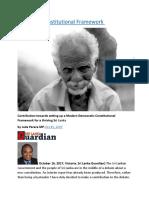 Sri Lanka Constitutional Framework.docx