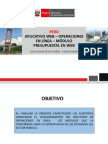 Aplicativo Web_ Operaciones_administrador Usuarios_módulo Presupuestal
