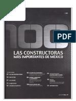 Revista Obras Las 100 Mejores Empresas Constructoras de México