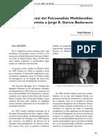 Jorge García Badaracco - Entrevista
