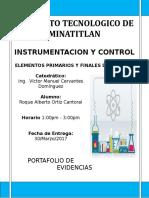 Tema 1 y 2 Instrumentacion y Control