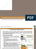 Manual CEROL Manufacturing (IDN 2.3)