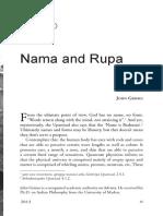 John Grimes - Nama and Rupa [According to Ramana]