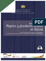 Min Justicia Bolivia Mujeres-pluralismo-juridico