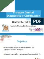 Prolapso Genital DiagnosticoSMUG