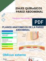 Abordajes Quirugicos de La Pared Abdominal
