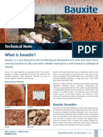 Bauxite Technical Note