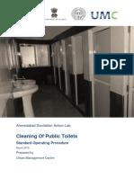 ASAL SOP Public Toilet Cleaning UMC